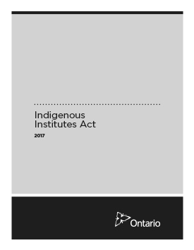 Indigenous Institutes Act, 2017